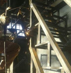 ساخت و مونتاژ پکیج تصفیه فاضلاب- رایمون