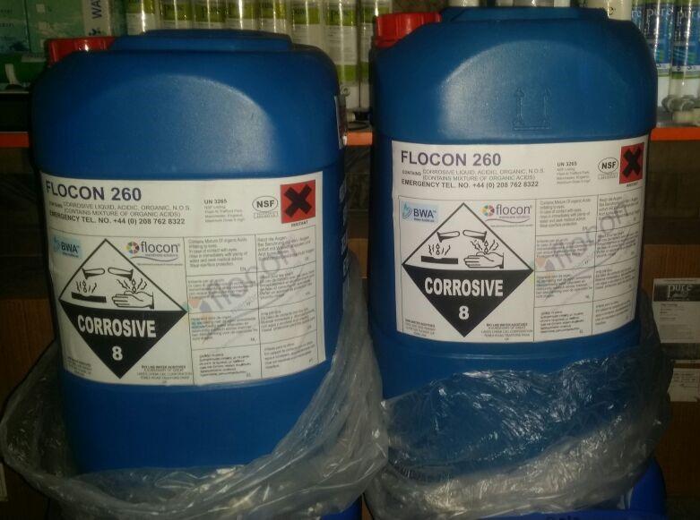 Flocon 260 All Antiscalant Available Q Copy - قیمت آنتی اسکالانت فلوکن 260  FLOCON(فروش با قیمت عمده)