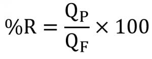 فرمول محاسبه ریکاوری اسمز معکوس