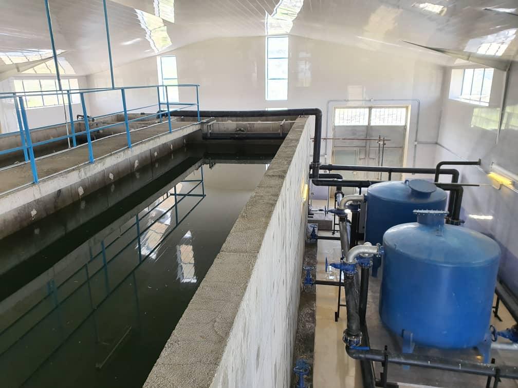 Sanandaj WTP zapco - تصفیه آب صنعتی