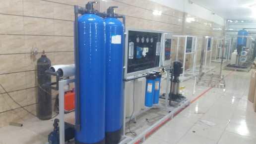 RO 1 - دستگاه اسمز معکوس RO - دستگاه آب شیرین کن صنعتی