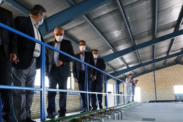eftetah1 - افتتاح تصفيه خانه آب مجتمع سراجوی غربی شهرستان مراغه